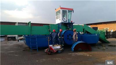 全自动水草收割船清理船