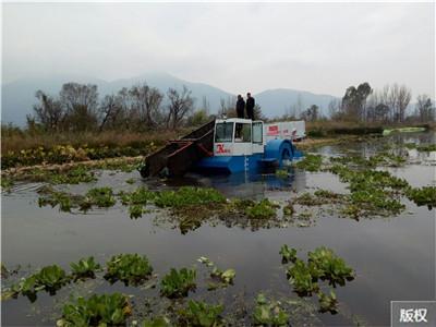 水草收割打捞船