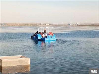水浮莲收集打捞船