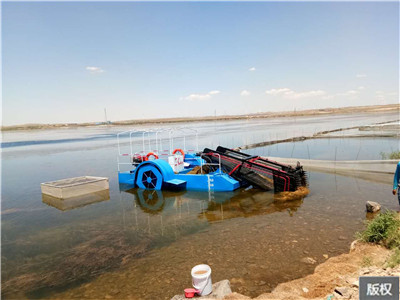 水面漂浮物收集船打捞船