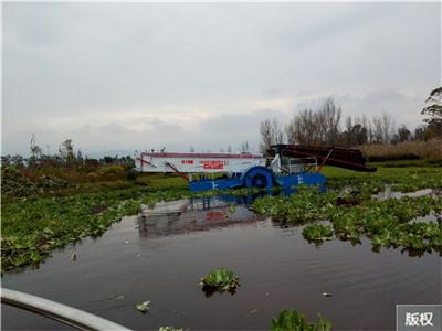 清除水草船