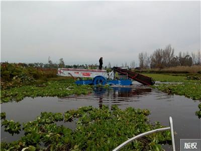 水葫芦割草船