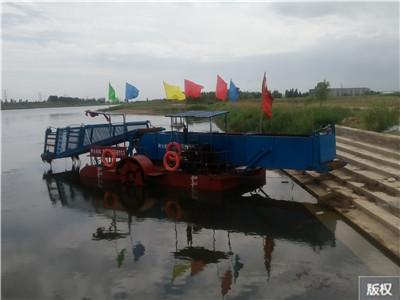 湖北水草水葫芦收割船