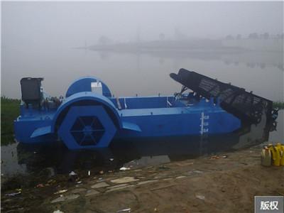 湖南水葫芦收割船