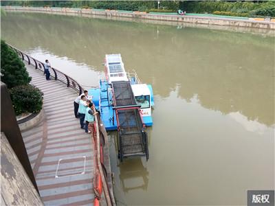 全自动水花生打捞收集船