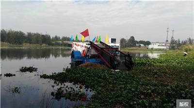 电动水面垃圾收集船