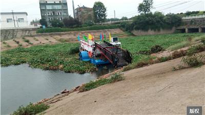 海洋垃圾收集船