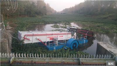 环保型水面垃圾清理收集船