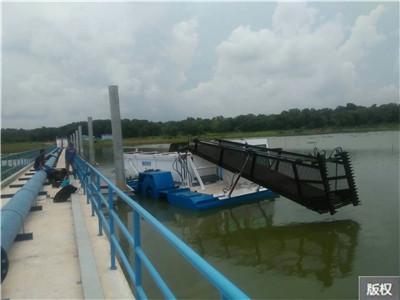 河道水面垃圾_收集船|打捞船