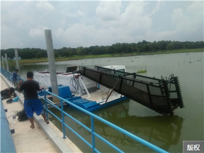 青州河道垃圾收集割草船