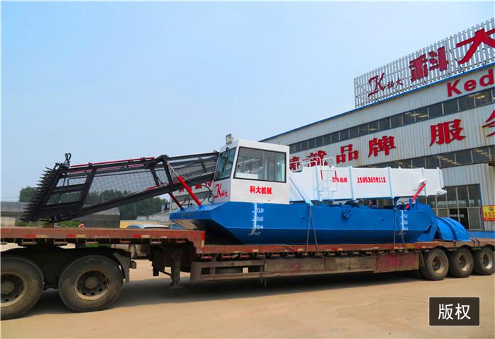 內河垃圾清漂船保潔