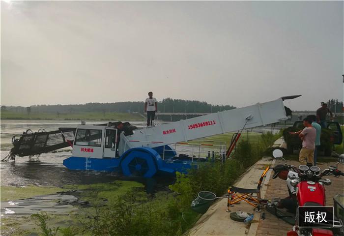 公园河道买割草船