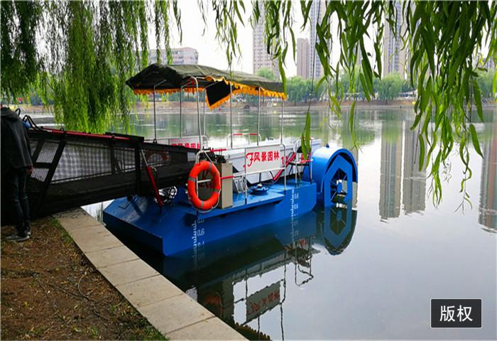 小型水葫芦收割船