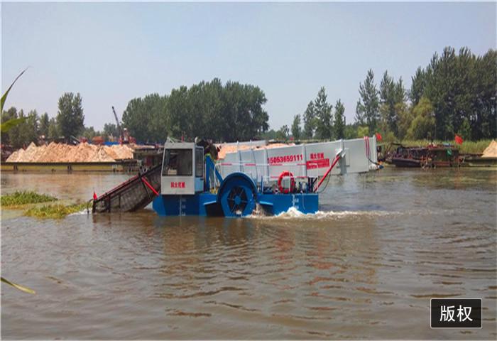 北京市水上割草船