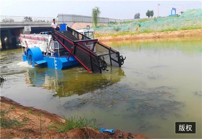 广东半自动割草船