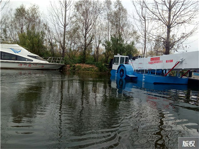 河道芦苇清理船设备