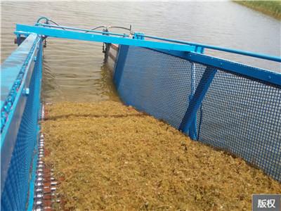 水底杂草清理船