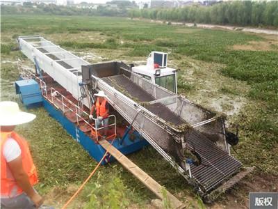 全自动水面保洁船