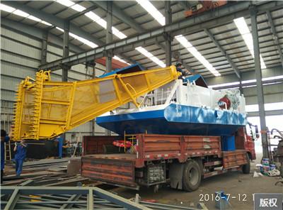 水库水面保洁船打捞设备