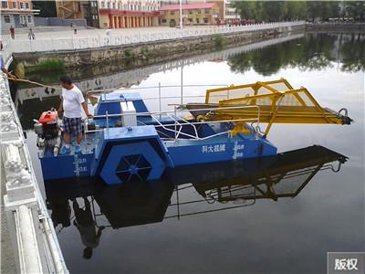 好用的保潔船清理河道