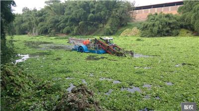 河里浮萍清理设备
