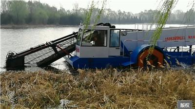 水面植物清理船