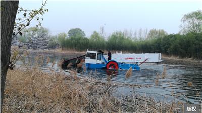 全自动水草收割船