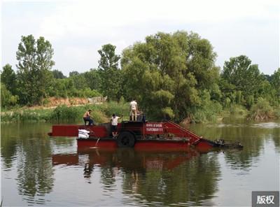 张家界水面清漂保洁船