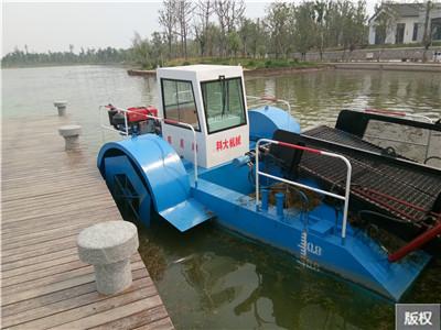 水草收割船小型