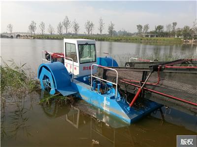 小型船用水草收割机
