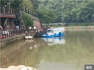 水下水草收割船