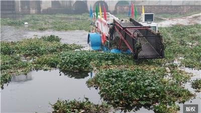 水葫芦打捞船租赁价格