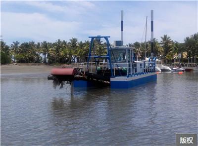 小型環保生態清淤船