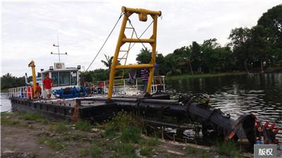 生態環保清淤船|施工方案