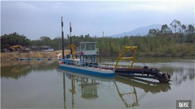 絞吸式環保疏浚挖泥船