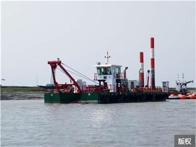水路兩棲環保型挖泥清淤船