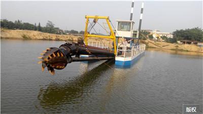 絞吸式挖泥船型號