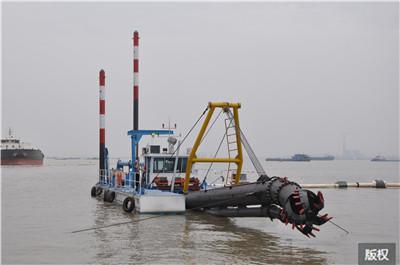 環保絞吸挖泥清淤船|施工方案