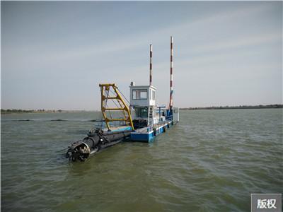 環保絞吸式清淤船|功能強大