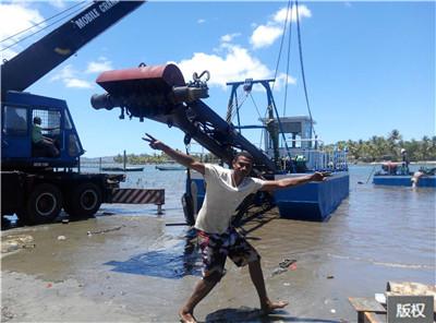河道抽沙帆船環保型